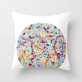 Spain – Barcelona Throw Pillow