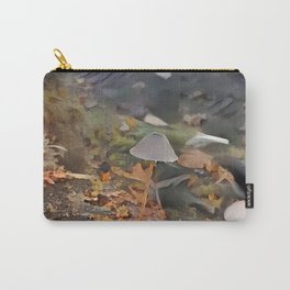 Painted Mycena in Forest Carry-All Pouch