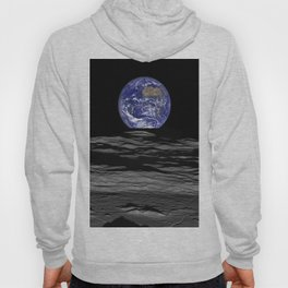 Earth Rising over the Horizon of the Moon Hoody