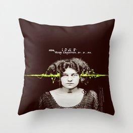 Paracusia Throw Pillow
