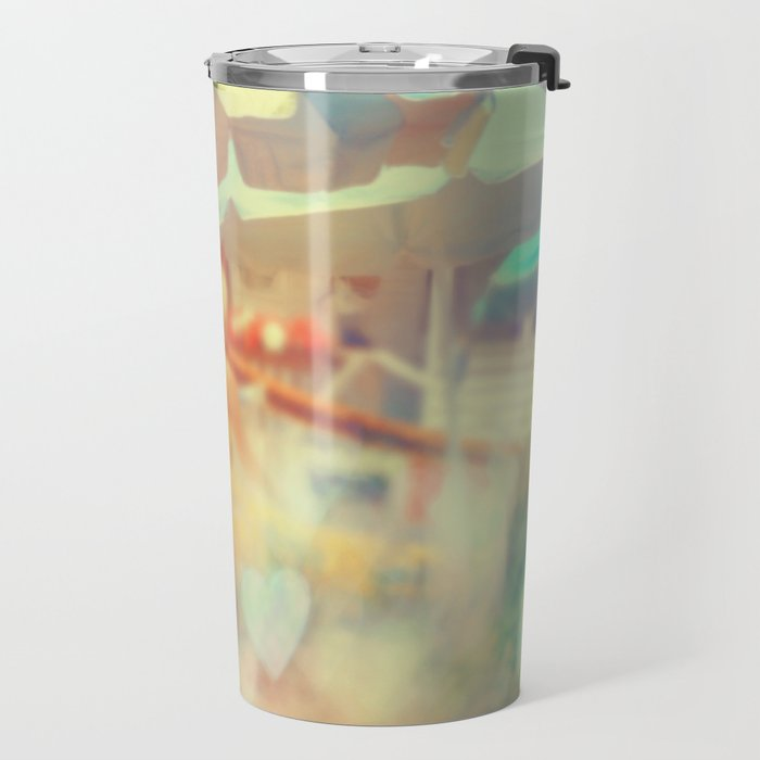 Seaside Town Travel Mug