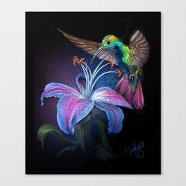 The Stargazer and The Hummingbird Canvas Print