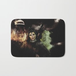 Sisters: The Evil Queen and The Wicked Witch Bath Mat