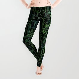 Medical Condition VINTAGE FRANKENSTEIN / Take two of these and call me in the morning Leggings