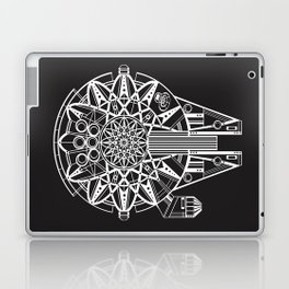 Millennium Falcon Mandala Illustration Laptop & iPad Skin