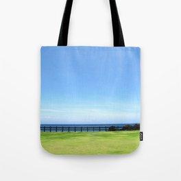 Shining horizon Tote Bag