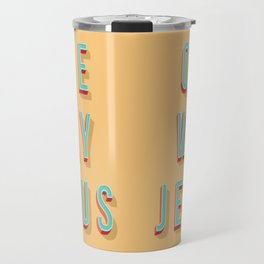ONE WAY JESUS Travel Mug