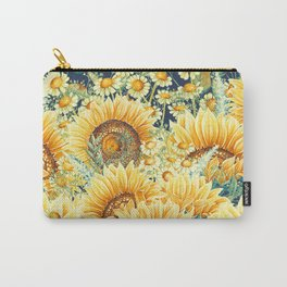 Vintage Garden (Sunflower Paradise) Carry-All Pouch