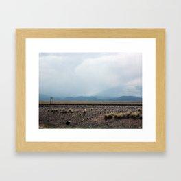 Owl Canyon Framed Art Print