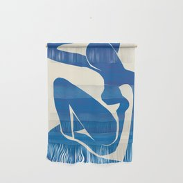 Blue Nude Wall Hanging