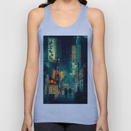 Tokyo Nights / Memories of Green / Blade Runner Vibes / Liam Wong Unisex Tank Top