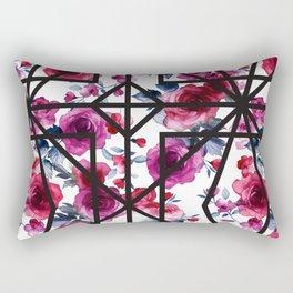 geo floral Rectangular Pillow