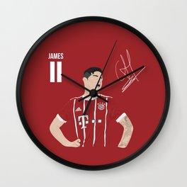 James Rodriguez - Bayern Munchen Wall Clock