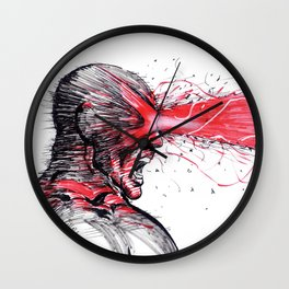 Cyke Unleashed Wall Clock
