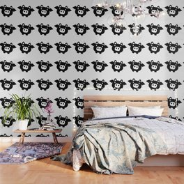 Pigs Will Fly (b&w) Wallpaper