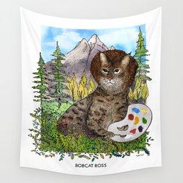 Bobcat Ross Wall Tapestry