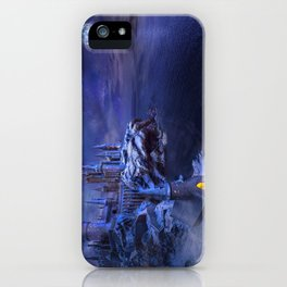 midnight castle iPhone Case