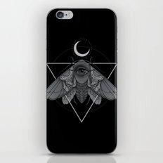 Occult Moth iPhone & iPod Skin