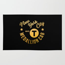 New York City - NYC Hipster Taxi Rug