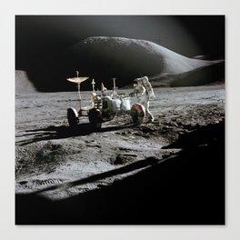 Apollo 15 - Moonwalk 1971 Canvas Print