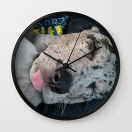 Dixie Savasana Wall Clock