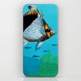 Butterfly & Bigeye fishes iPhone Skin