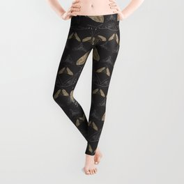 Moth pattern Leggings