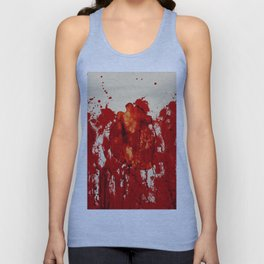 Blood Heart Unisex Tank Top