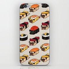 Sushi Pug iPhone & iPod Skin