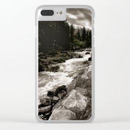 Landscape II, Icicle Creek, Leavenworth, Washington Clear iPhone Case