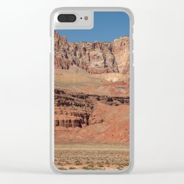 Colorful Mesas 2 - Desert Southwest Clear iPhone Case