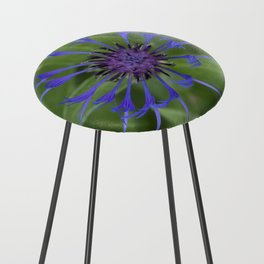 Thin blue flames in a sea of green Counter Stool