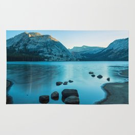 Tenaya Lake at Sunrise Rug