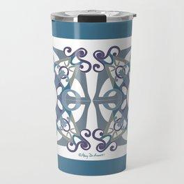 Support Love Mandala x 2 - Cool Travel Mug