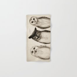 The Owl's 3 Hand & Bath Towel