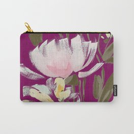 tulips on plum Carry-All Pouch