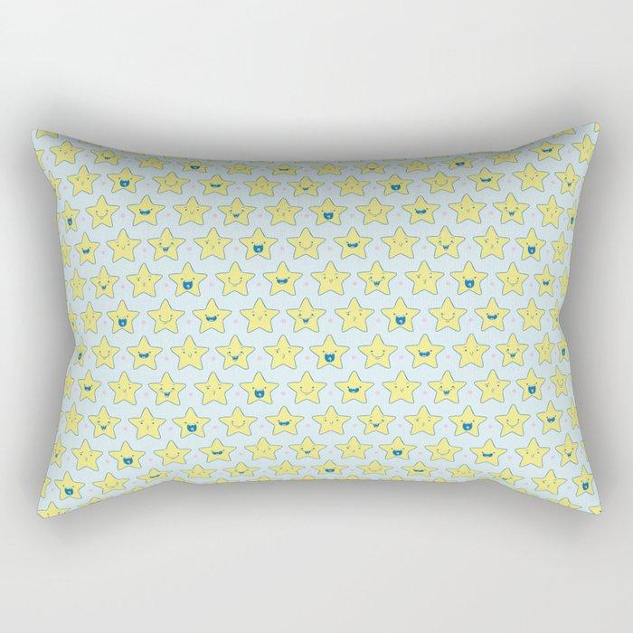 Cute Little Stars Rectangular Pillow