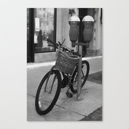 Obvious Bicycle Canvas Print