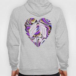 Retro Renewal - Purple Waves Hoody
