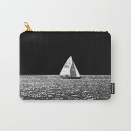Sailing On The Lake Carry-All Pouch
