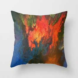 Calamatani Throw Pillow