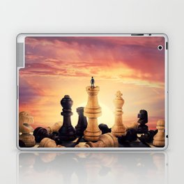 the rise of a chess player Laptop & iPad Skin