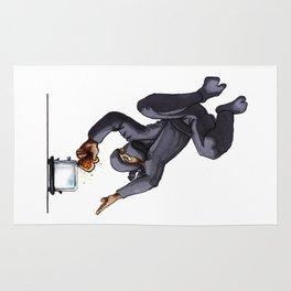 Ninja Making Toast Rug