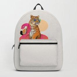 Chillin (Flamingo Tiger) Backpack