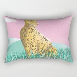 Nobody can beat the Mama Africa! Rectangular Pillow