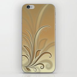 Abstract plant iPhone Skin