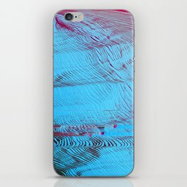 MEMORY MOSH - Glitch Art Print iPhone Skin