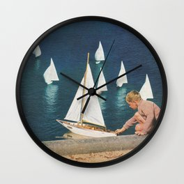 Harbor Wall Clock