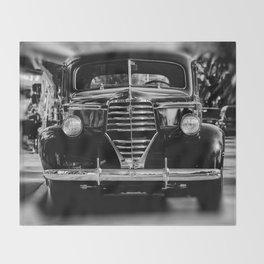 American Classic Car Throw Blanket