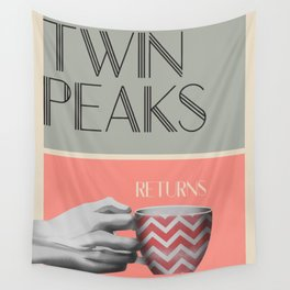 """Set of posters:""""TWIN PEAKS"""" Wall Tapestry"""